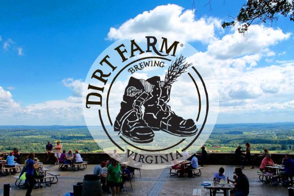 Dirt Farm Brewing Logo and View