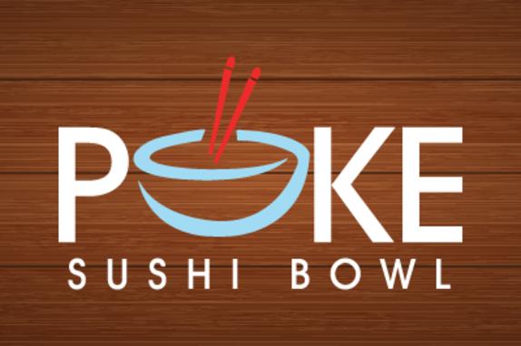 Poke Sushi Bowl Logo