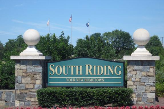 South Riding Entrance