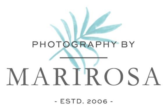 Photography by Marirosa Logo