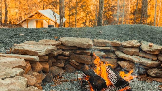 Campfire at North Gate Resorts
