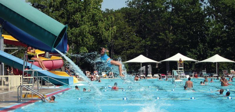 swimming pool at Gage Park