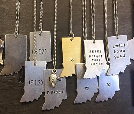 Seize the Night Designs Indiana necklaces
