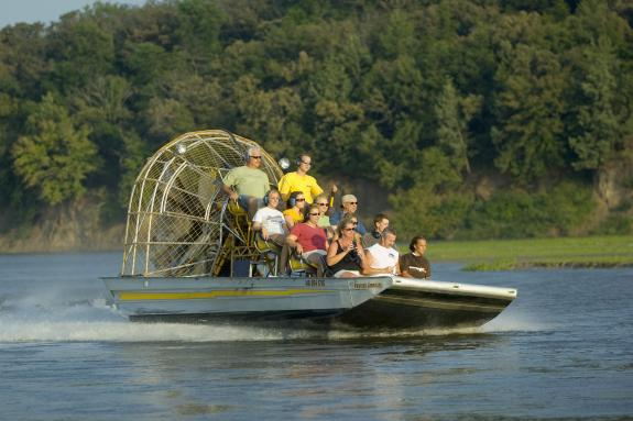 Bryson Airboat Tour