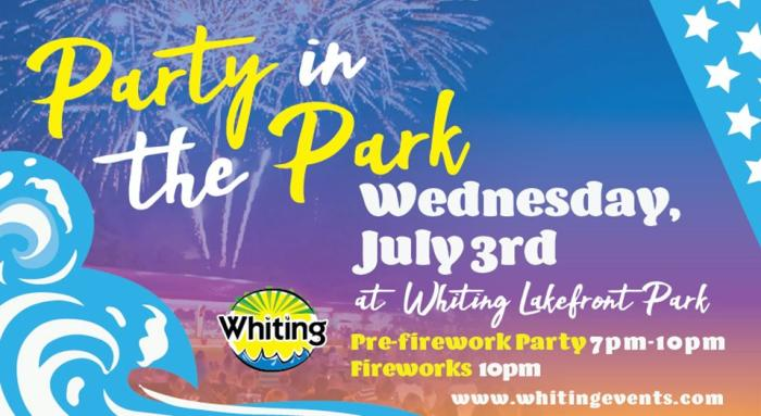 Whiting Party in the Park
