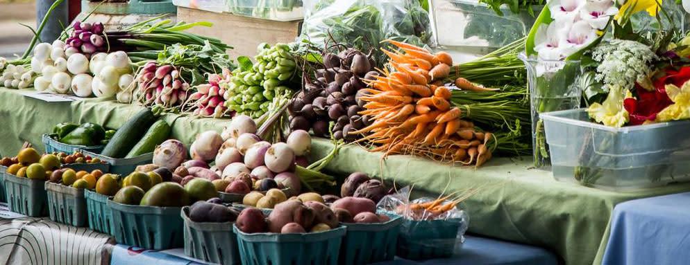 Fresh Produce at the Overland Park Farmers' Market