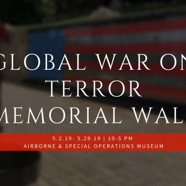 Global War on Terror Memorial Wall