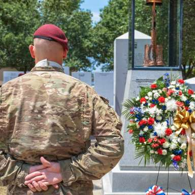 All American Week: Division Memorial Ceremony