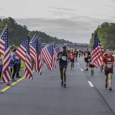 All American Marathon / Mike to Mike Half Marathon  CANCELLED