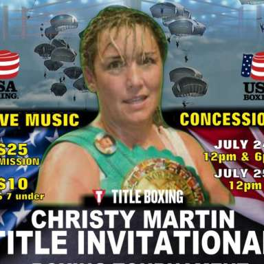 Christy Martin's Title Boxing Invitational