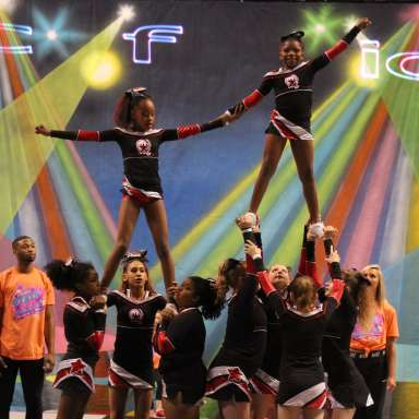 Champions In Motion Cheerleading Competition