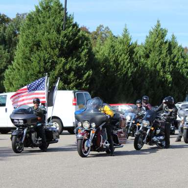 Rolling Thunder NC Chapter 1 Veterans Day Ride