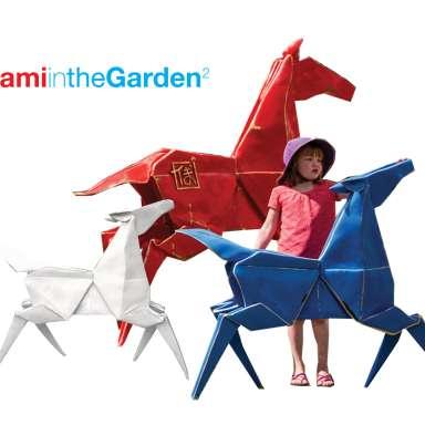 Origami in the Garden2