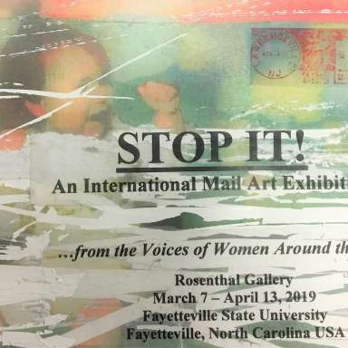 STOP IT! An International Mail Art Exhibition
