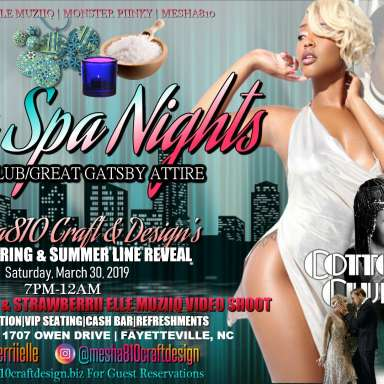 Sexy Spa Nights: Spring & Summer Reveal Party