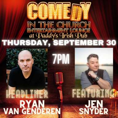 Comedy Night in the Church Entertainment Lounge