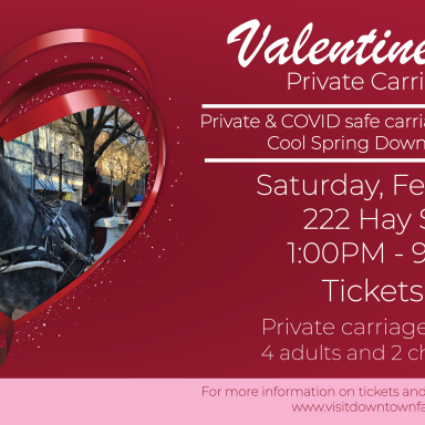 Valentine's Day Private Carriage Rides