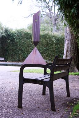 Houston Sobre Ruedas - Rothko Sculpture
