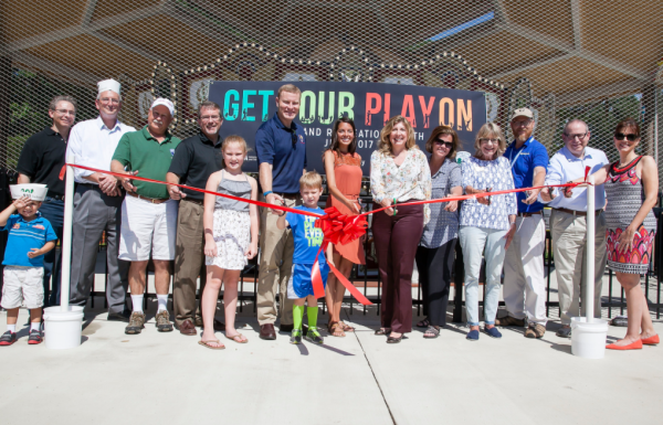Chessie's Carousel Ribbon-Cutting