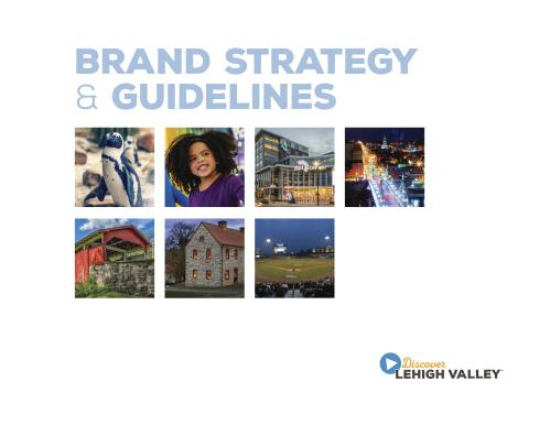 Discover Lehigh Valley Brand Guidelines