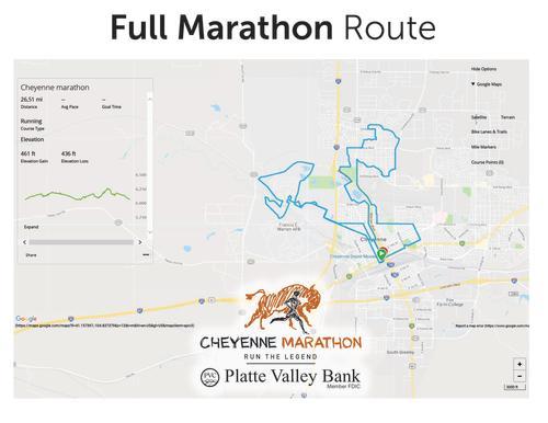 2019 Marathon Route
