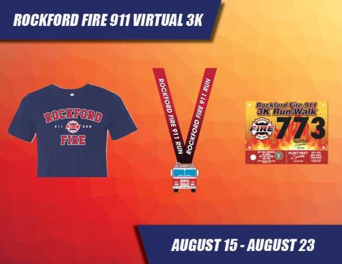 2020 rockford fire 911 virtual 3k poster
