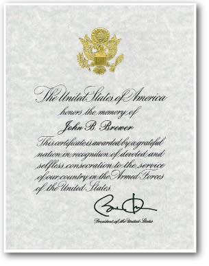 Brewer-Certificate