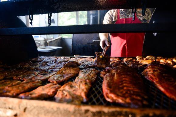 Barbecue in Louisiana