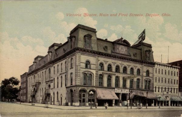 Old Photo Of The Victoria Theatre