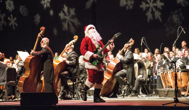 Roanoke Symphony Orchestra - Holiday Pops Concert
