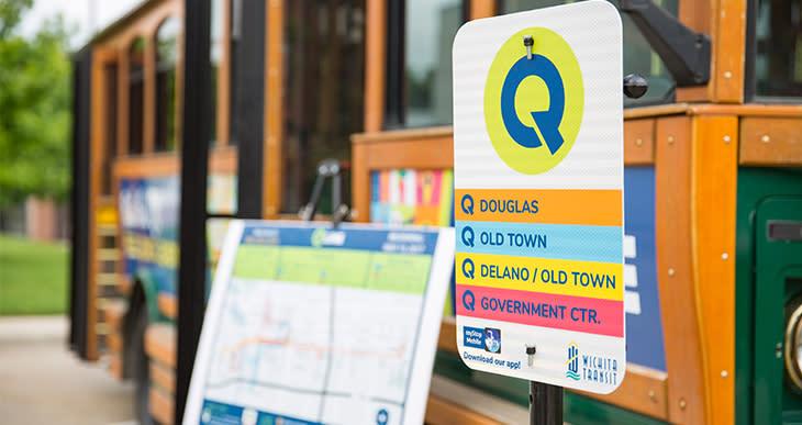Q-Line Sign