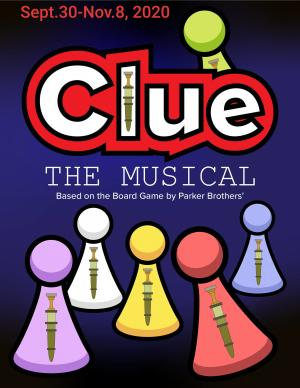 Derby Dinner Playhouse Clue the Musical, playing 2020