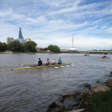 Rowing in Manitoba