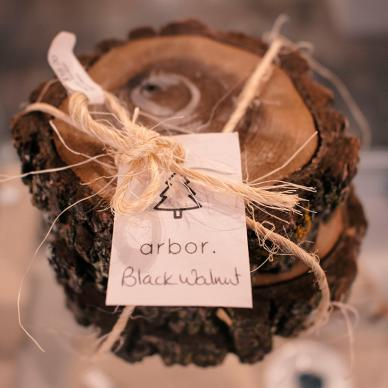 Arbor Black Walnut Coasters from WAG @ The Forks