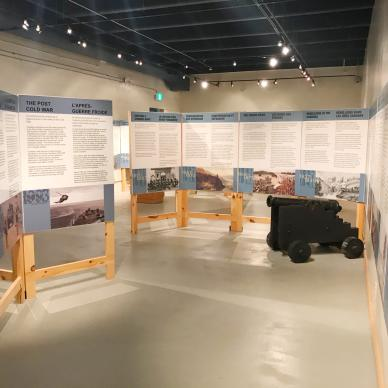 The RCA Museum in Shilo, Manitoba