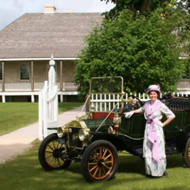 Motor Country Club centennial at Lower Fort Garry National Historic Site
