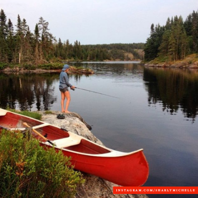 Paddling and Fishing in Manitoba