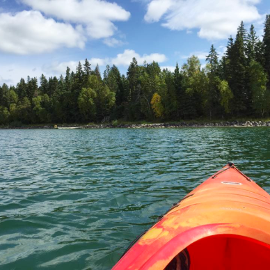 Paddling Clear Lake