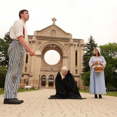 In Riel's Footsteps, St. Boniface