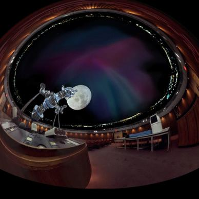The Planetarium in the Manitoba Museum