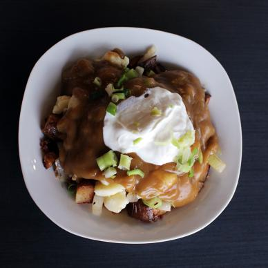 Old No.12 Breakfast Poutine, Sainte-Anne on the poutine trail