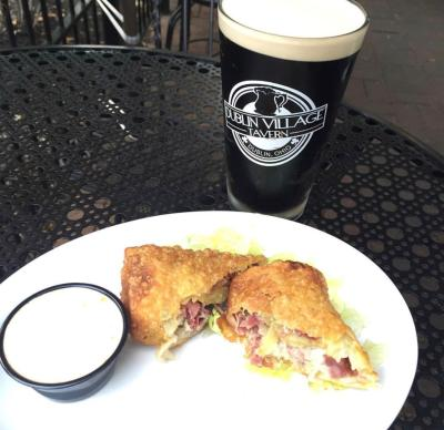 Dublin Village Tavern Irish Egg Roll