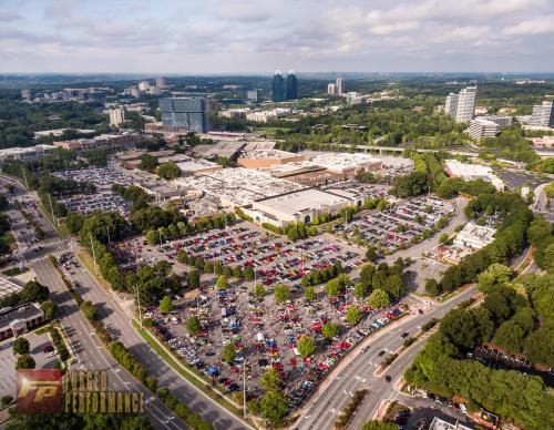 Aerial View of Caffeine and Octane