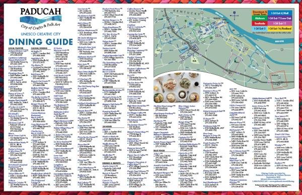 Paducah Dining Guide 2019