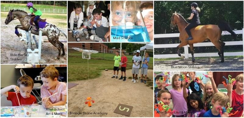 Summer Camp collage