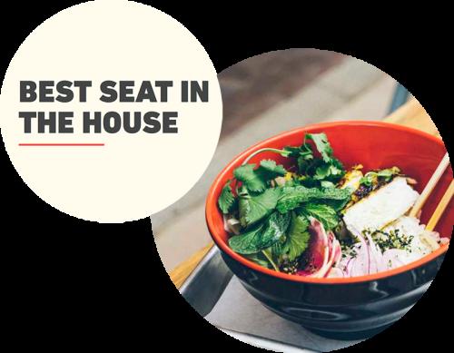 Visit Austin Best Seat in the House Foodie Series
