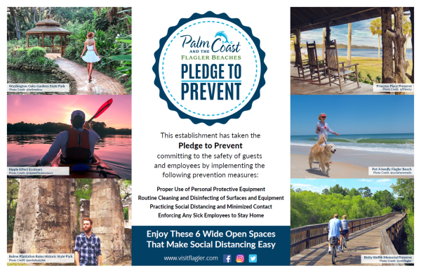 pledge to prevent placemat