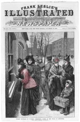 Leslie's Suffragette Newspaper