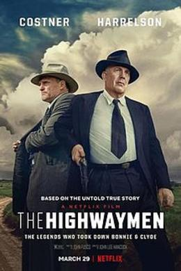 The Highwaymen, film, 2019