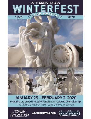 Winterfest 2020 Program
